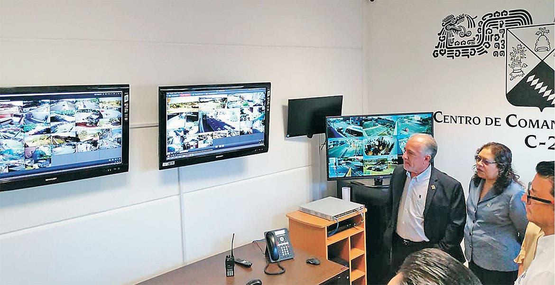 Vigilan la UAEM 70 cámaras para bajar delitos
