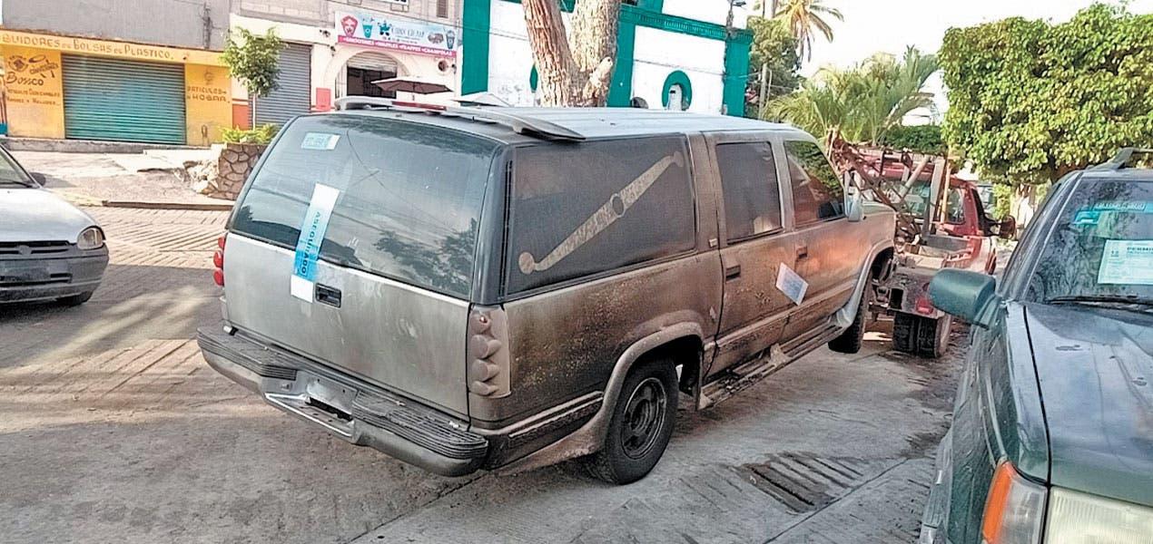 Incendian carroza en Morelos