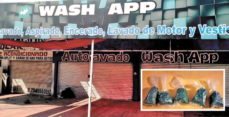 Catean negocio y hallan droga en Zacatepec