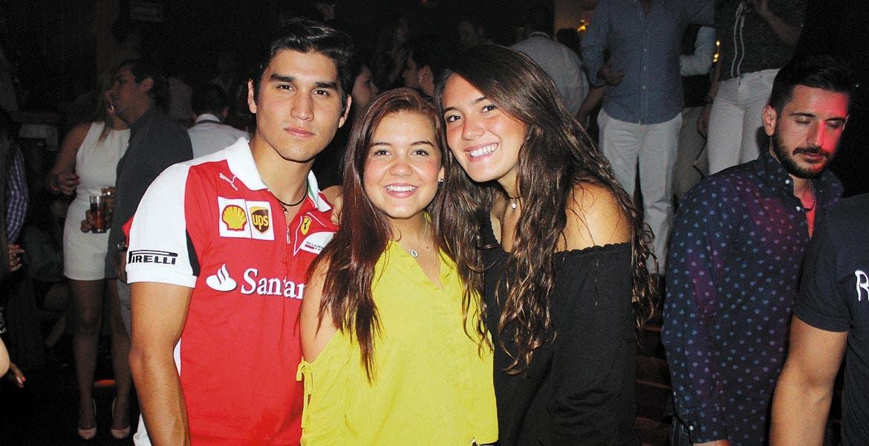 Emilio Ortega, Ximena Cuesta y Chío Fernández.
