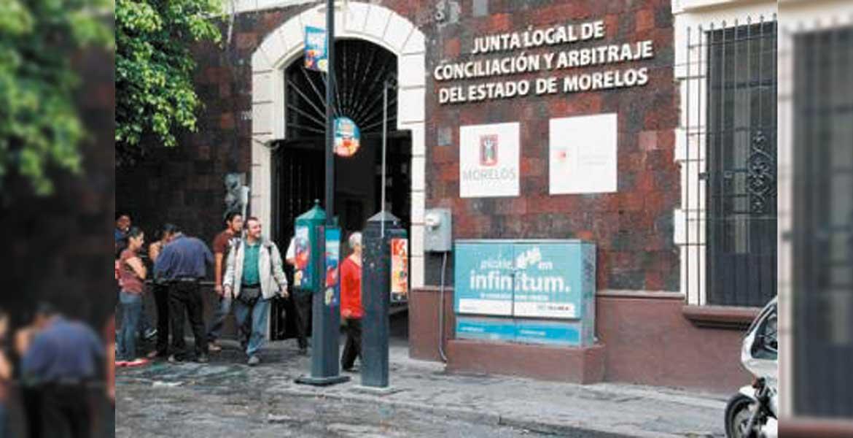 Más de once mil expedientes se acumulan en las cuatro salas de la Junta Local de Concialiación.