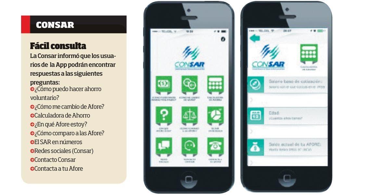 Aplicación. Mediante plataforma digital buscan que trabajadores tengan fácil acceso a información relacionada con el ahorro para su retiro.