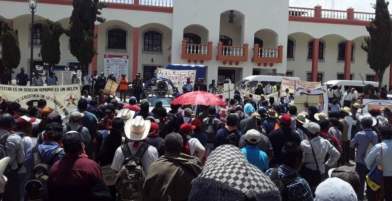 Indígenas de Chiapas protestaron porque aseguran que Bill Gates creó al COVID-19 para matarlos