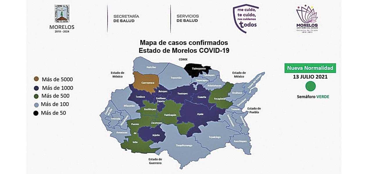 Operan módulos de pruebas COVID en Cuern...