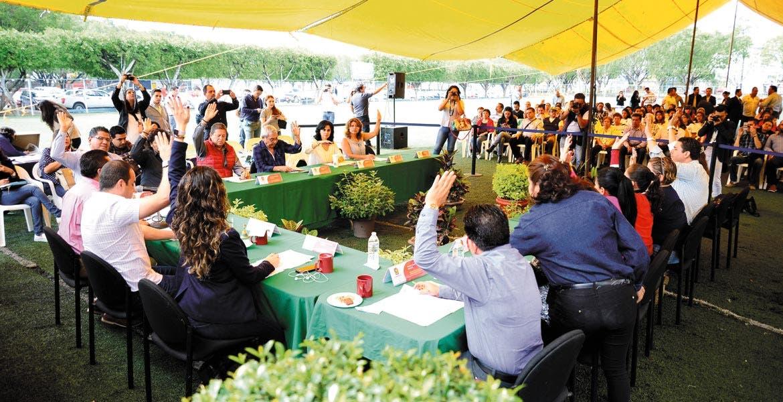 Abiertos. Habitantes de la Delegación Miguel Hidalgo recibieron al Cabildo