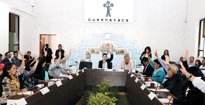 Unanimidad. En la sesión de Cabildo de ayer, todos los concejales estuvieron de acuerdo en revocar el acuerdo de condonación.