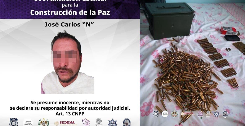 """Cae """"El Cachorro"""" con arsenal y droga en Ayala"""