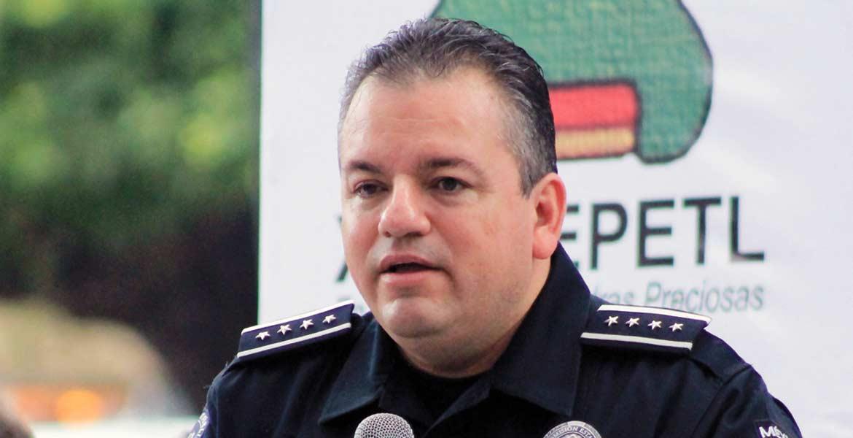 Jesús Alberto Capella, comisionado de Seguridad.