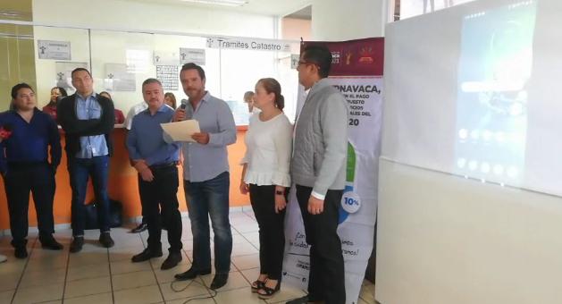 """Ayuntamientopone en marchala app""""CUERNAVACA DIGITAL"""
