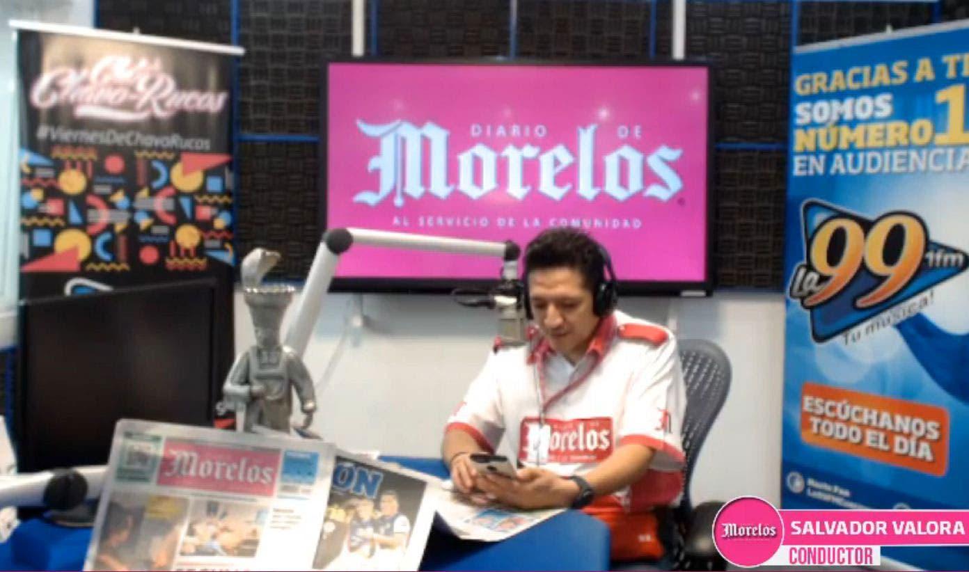 DIARIO DE MORELOS INFORMA A LAS 8AM 14 DE AGOSTO 2020