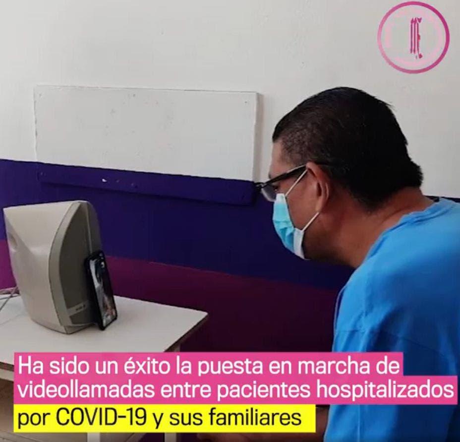 Mejora ánimo de pacientes con videollamadas a familiares en Morelos …