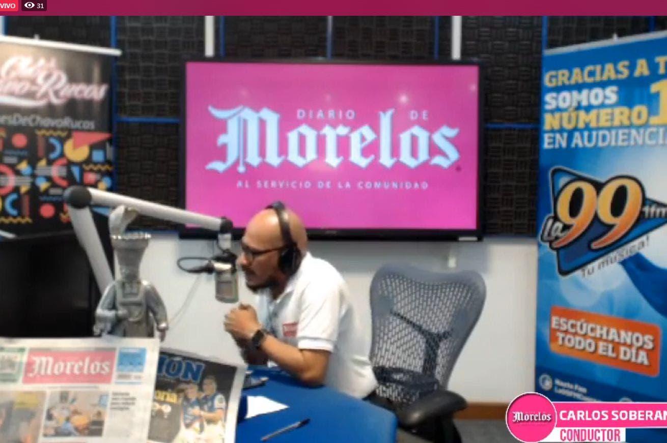 DIARIO DE MORELOS INFORMA A LA 1PM 14 DE AGOSTO 2020