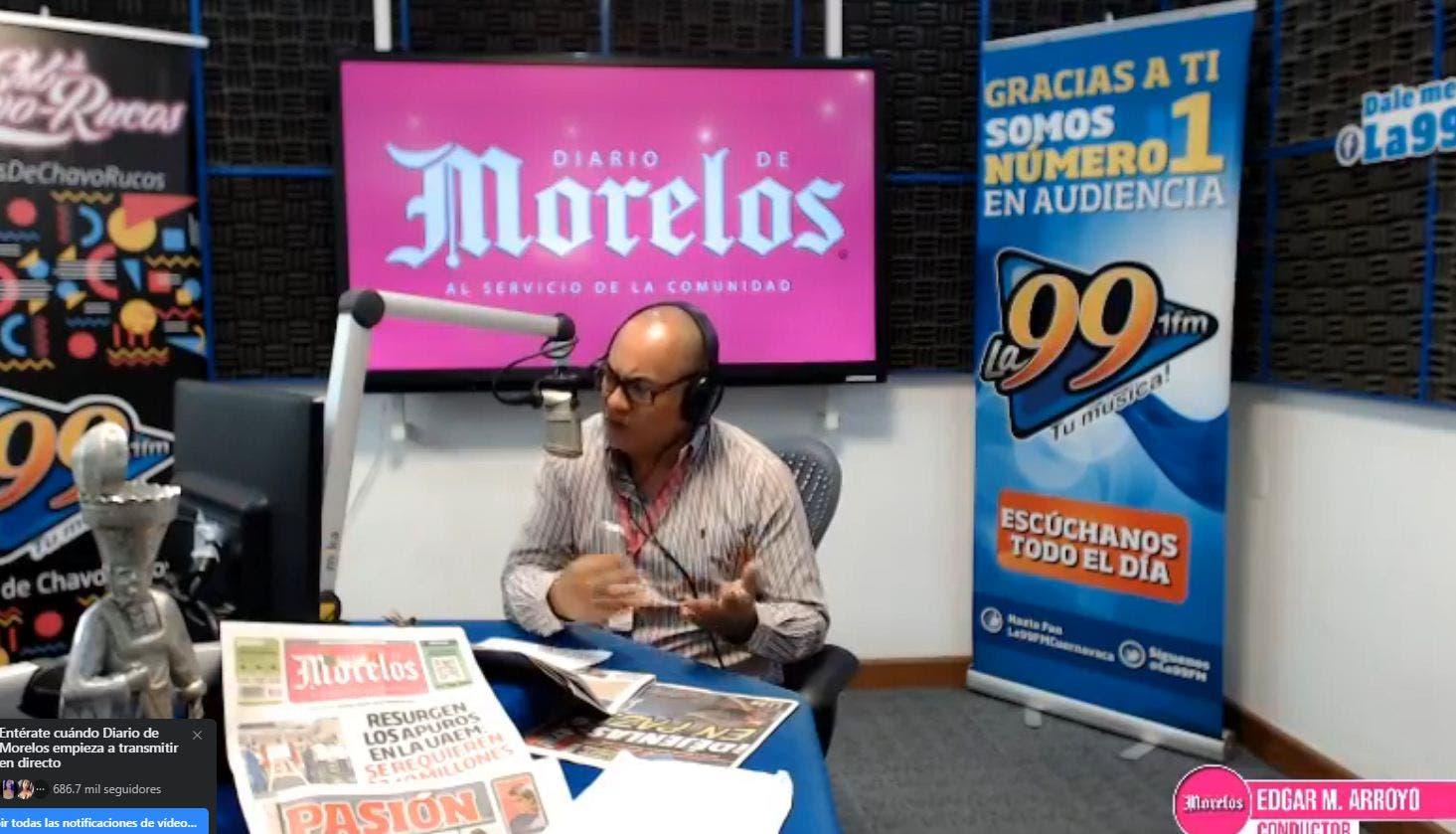 DIARIO DE MORELOS INFORMA A LAS 8AM DE SEPTIEMBRE 2020