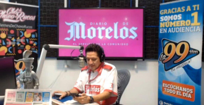 DIARIO DE MORELOS INFORMA A LAS 8 AM 14 DE JULIO 2020