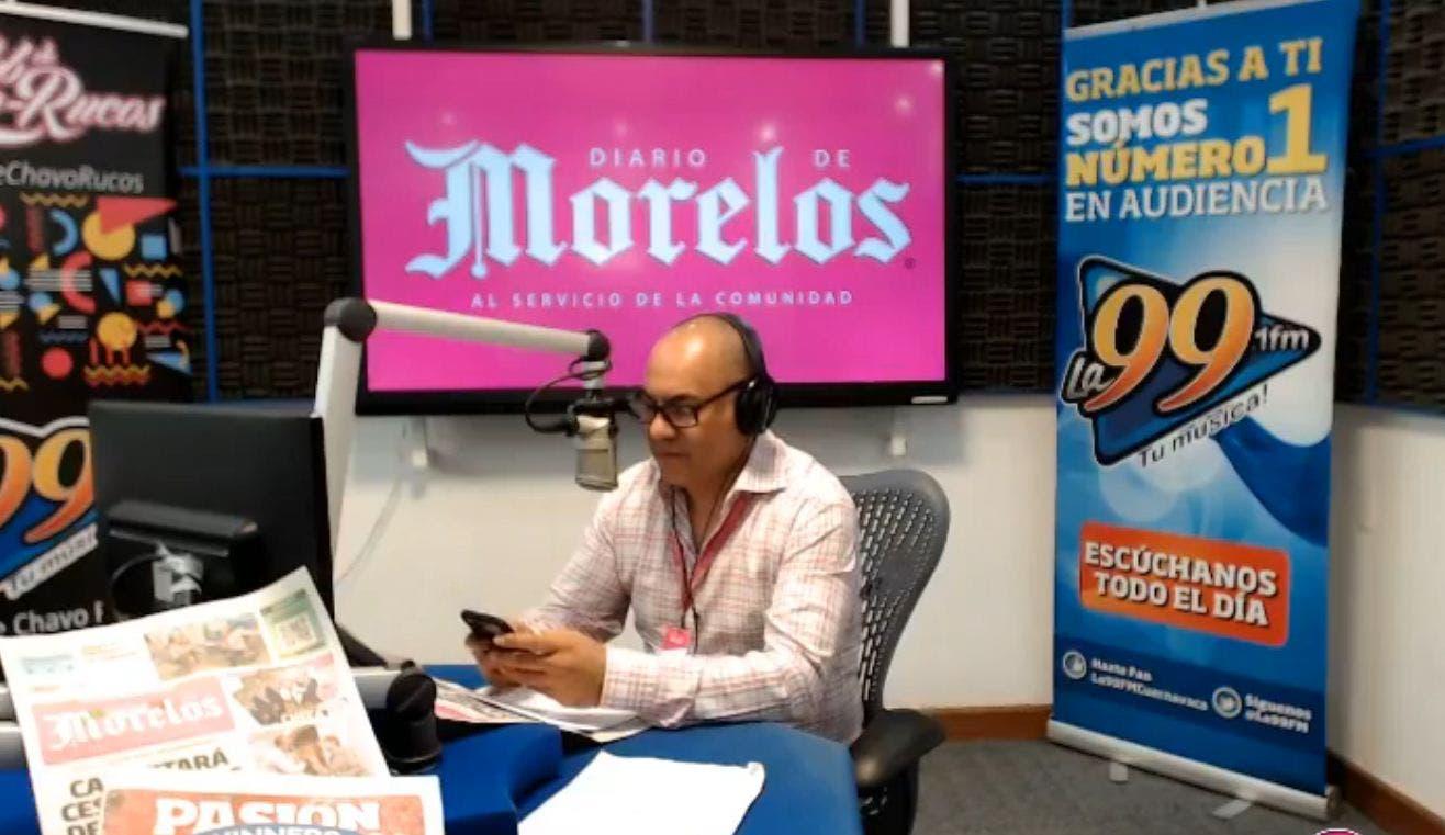 DIARIO DE MORELOS INFORMA A LAS 8AM 25 DE SEPTIEMBRE 2020