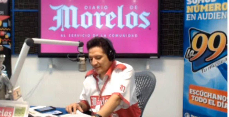 DIARIO DE MORELOS INFORMA A LAS 8 AM 16 DE JULIO 2020