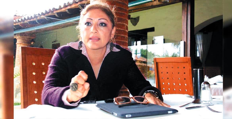 Verónica Cuevas López, presidenta del TSJ