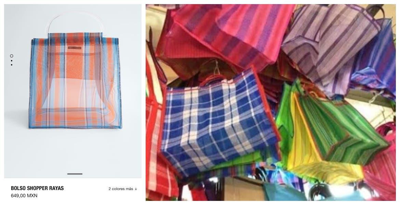 """Causa indignación y burla en redes famosa tienda que sacó su """"versión"""" de la bolsa para ir al mercado"""