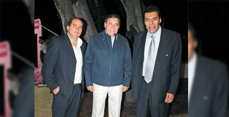 Eduardo Lavín, Jorge López Flores y Jorge Ontiveros
