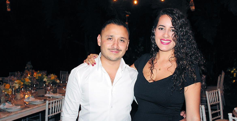 Bruno Camarena y Eunice Ramírez.