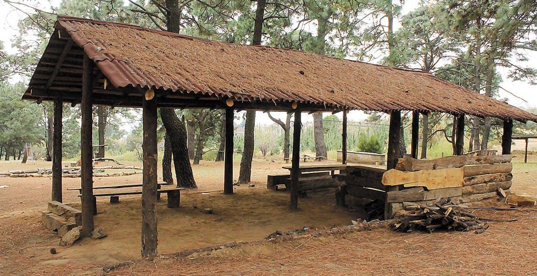 Sitio campestre. En el parque ecoturístico las familias pueden quedarse a acampar, con la certeza de que estarán seguros.