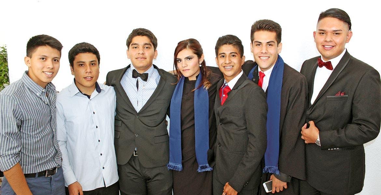 jAlfredo Castañeda, Ramón Márquez, Giovanni Solano, Brenda Montiel, Jafet Martínez, Rogelio Hernández y Jonathan Bustos.