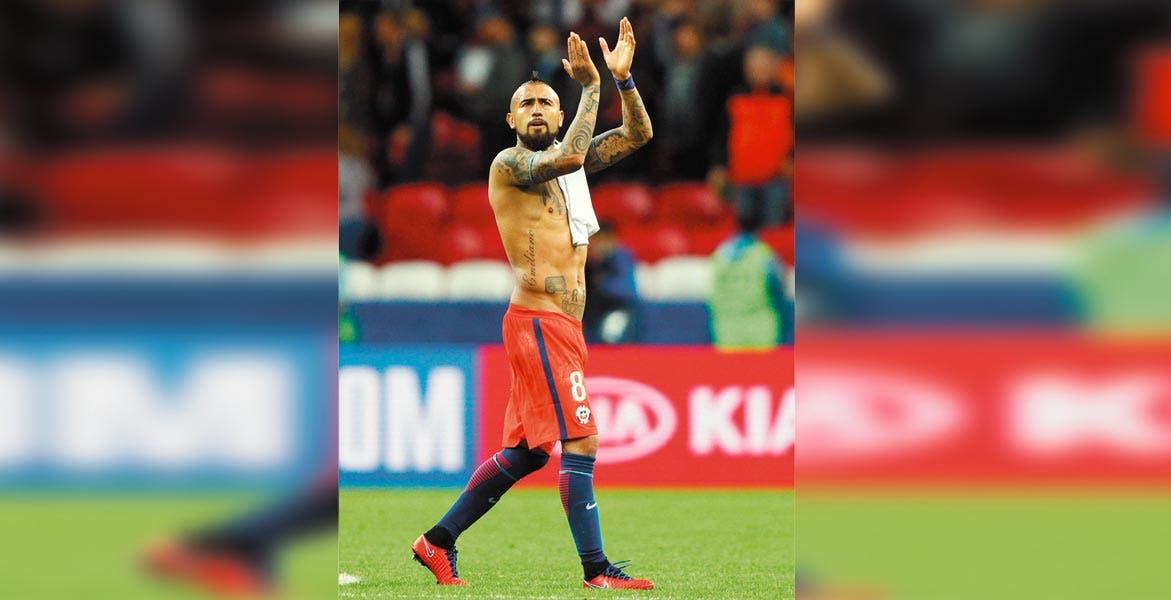 Chile pasa las semifinales de la Copa de Confederaciones sufriendo