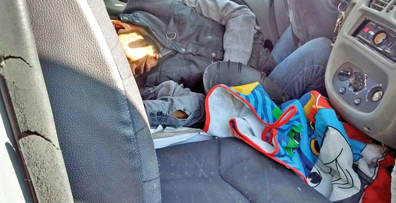 Tragedia. Arturo Ocampo murió al quedar prensado en el interior de su coche, luego de que chocara contra el muro de contención.