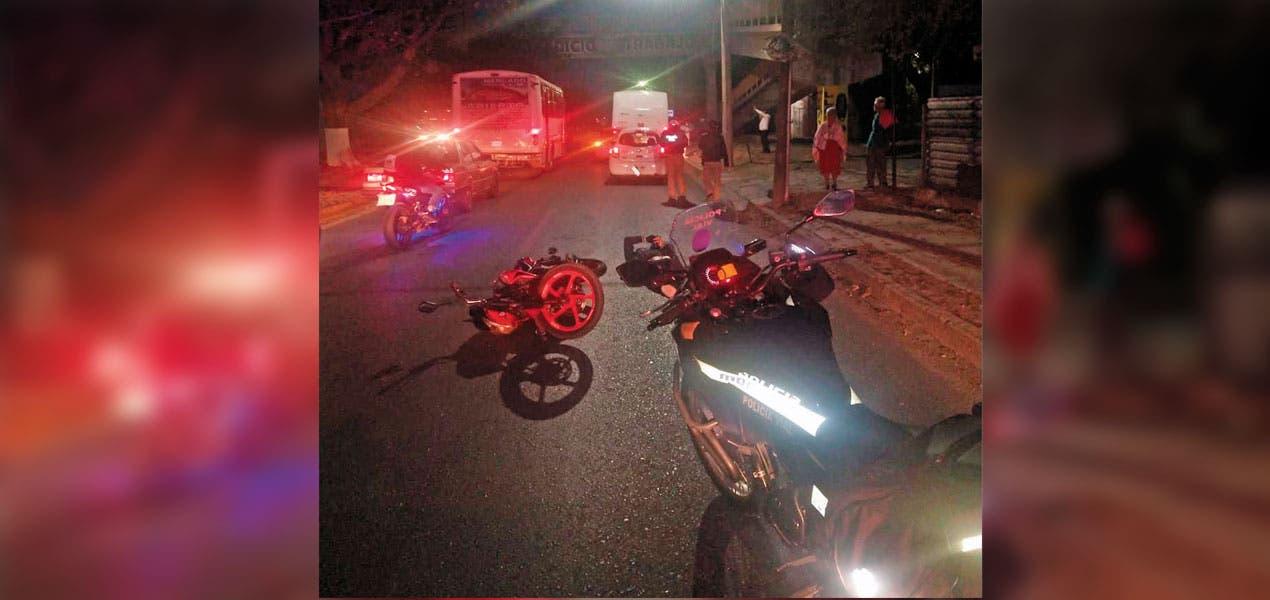 Doble accidente en Jiutepec