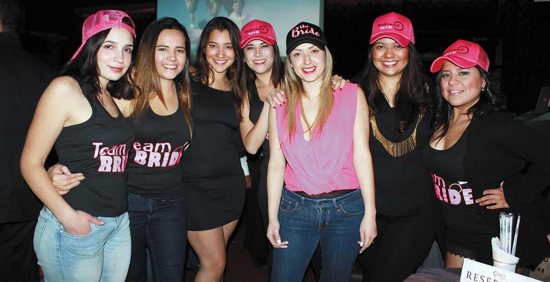 Greta Frías, Pamela Valenzuela, Kassandra Varela, Daniela Valenzuela, Estefanía Bonifáz, Ingrid Varela e Isa Aguilar.