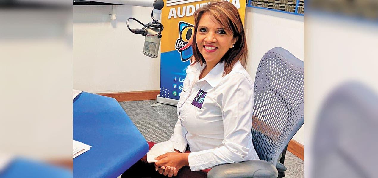 Claudia Alemán, de Bienestar Ciudadano, busca lleva...
