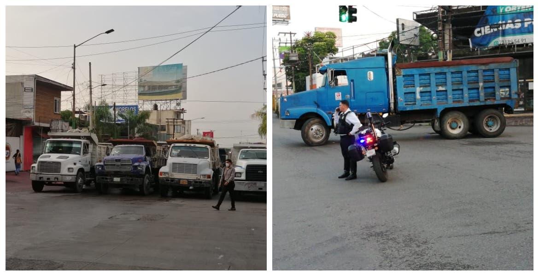 Colapsa circulación vial de Cuernavaca por bloqueos en diferentes puntos de la ciudad