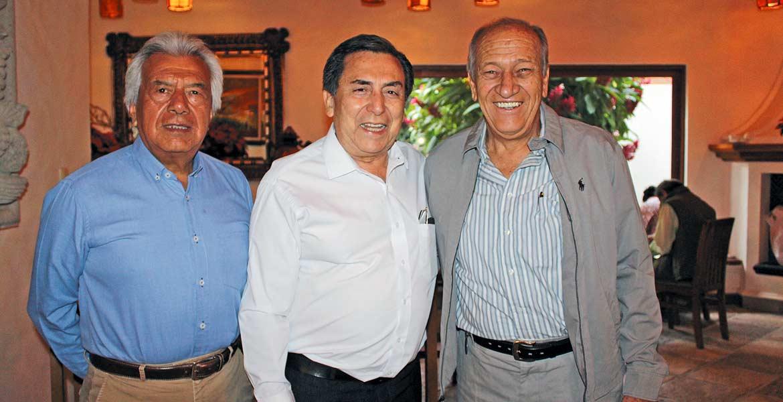 Roberto Vázquez, José Hernández y Julio Astudillo