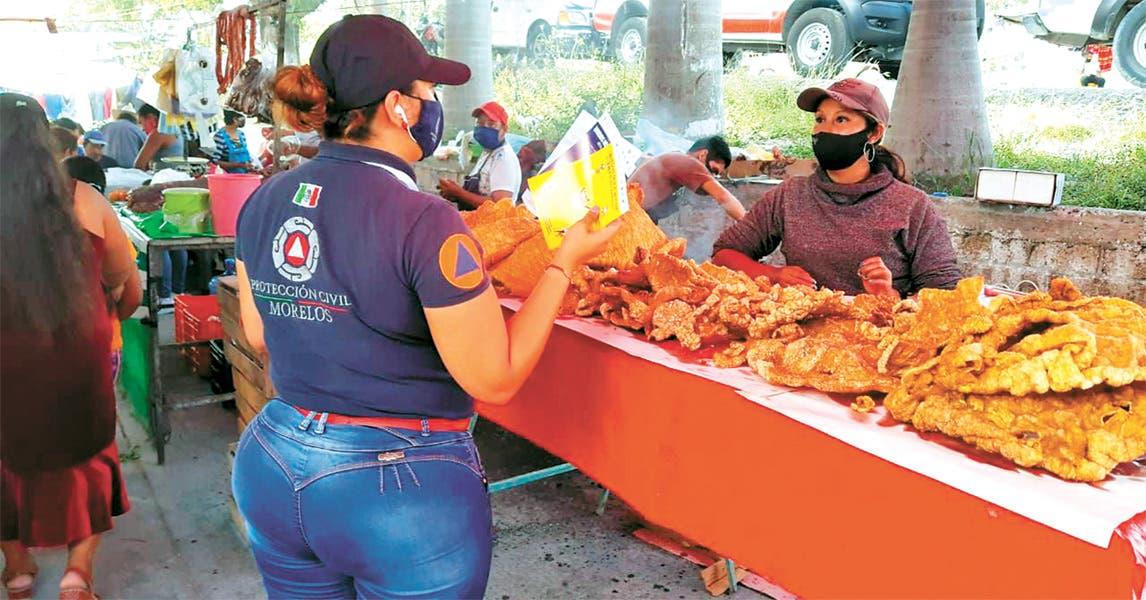 Permanente, riesgo de regresar al naranja en Morelos por COVID19