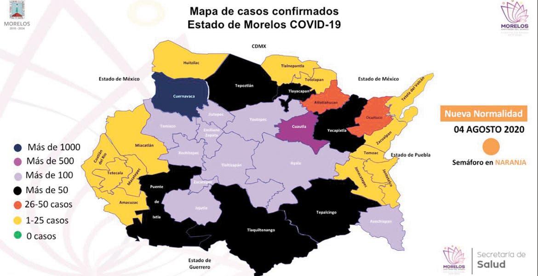 Urge Cantú a bajar la movilidad social en Morelos