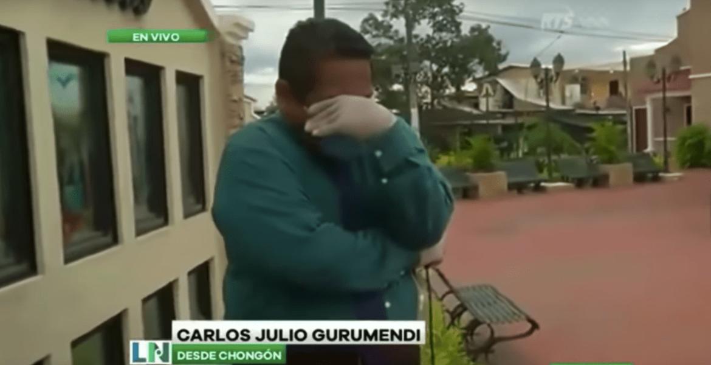 Crisis en Ecuador hace romper en llanto a reportero