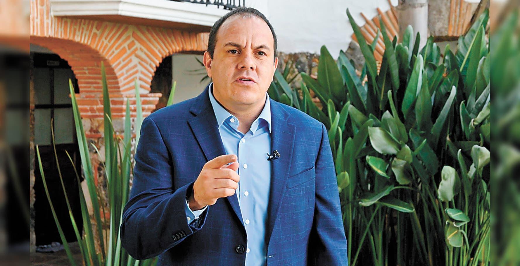 Prudencia y responsabilidad: Cuauhtémoc Blanco, gobernador de Morelos