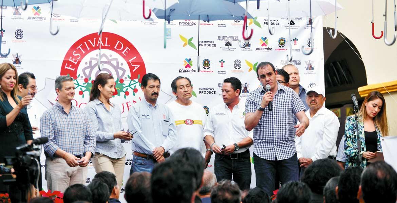 Postura. El alcalde capitalino Cuauhtémoc Blanco aseguró que intereses políticos están afectando el progreso de Cuernavaca en relación con otras ciudades.