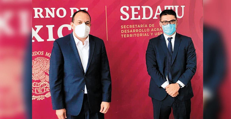 Anuncian mejoras en 10 municipios de Morelos con intervención de Sedatu