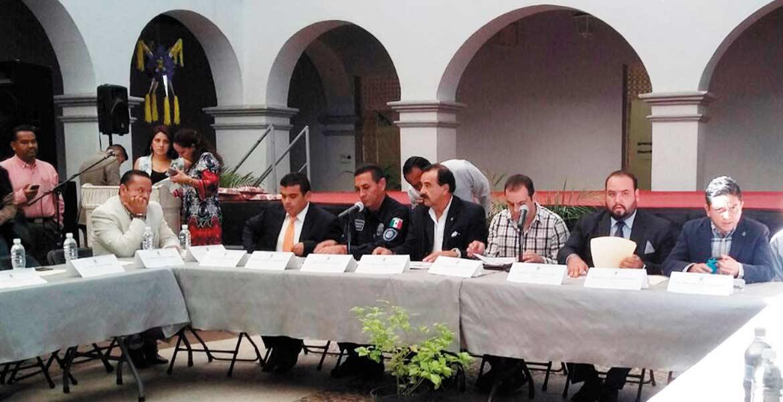 Reunión. En el Museo de la Ciudad se instaló la Sexta Sesión del Consejo Municipal de Seguridad Pública.
