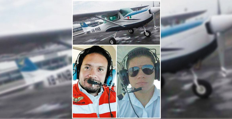 Desaparece avioneta con dos capitanes en México