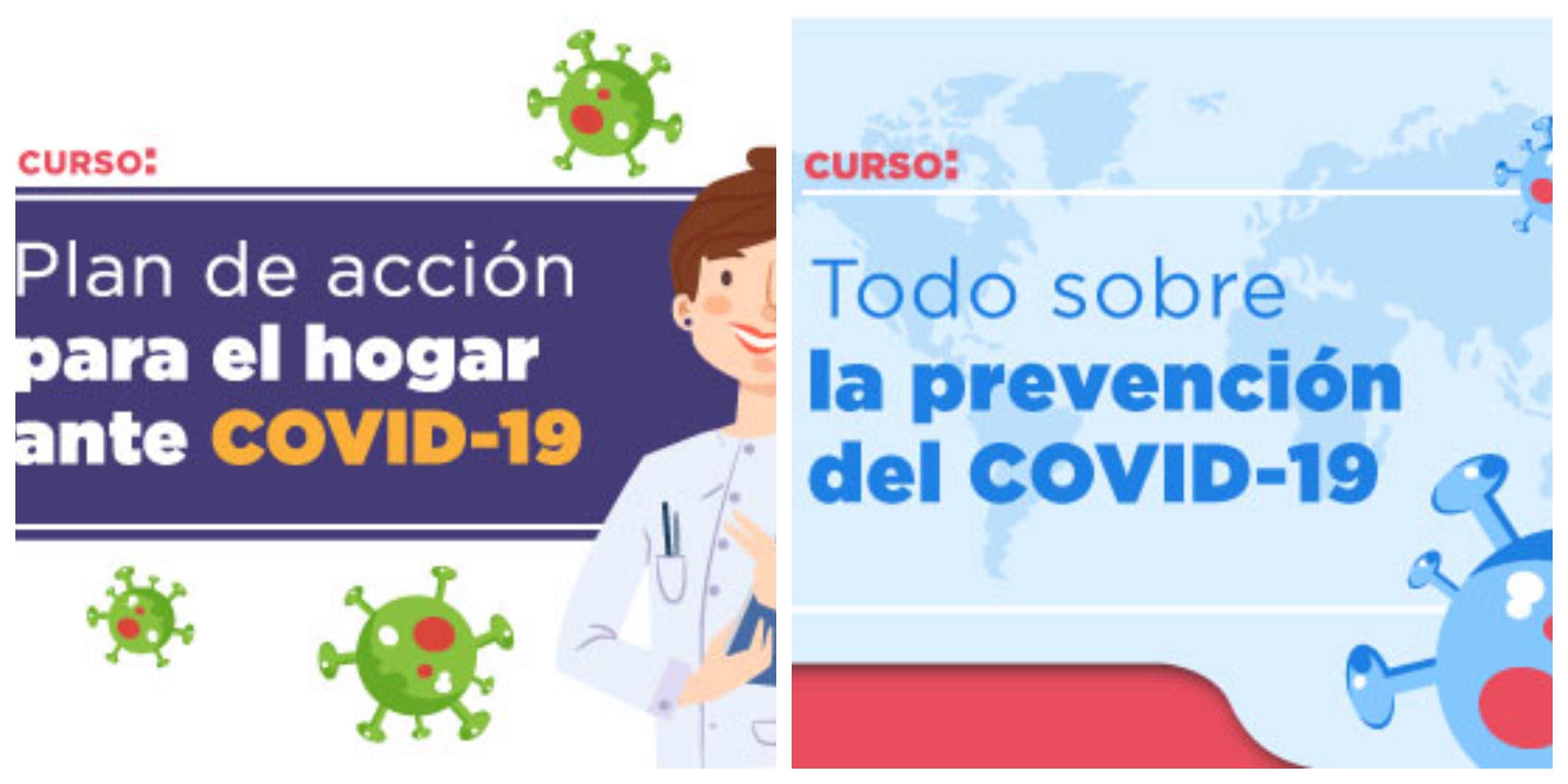 """IMSS ofrece curso en línea """"Todo sobre la prevención del COVID-19"""""""