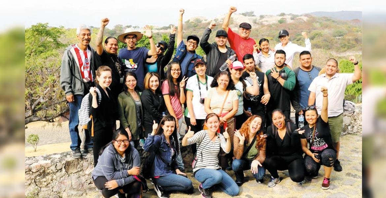 El año pasado. En diciembre, un grupo de 25 estudiantes indocumentados mexicanos vino a Cuernavaca como parte del programa DACA Dreamers, pero tuvieron que regresar de súbito ante la asunción de Donald Trump.