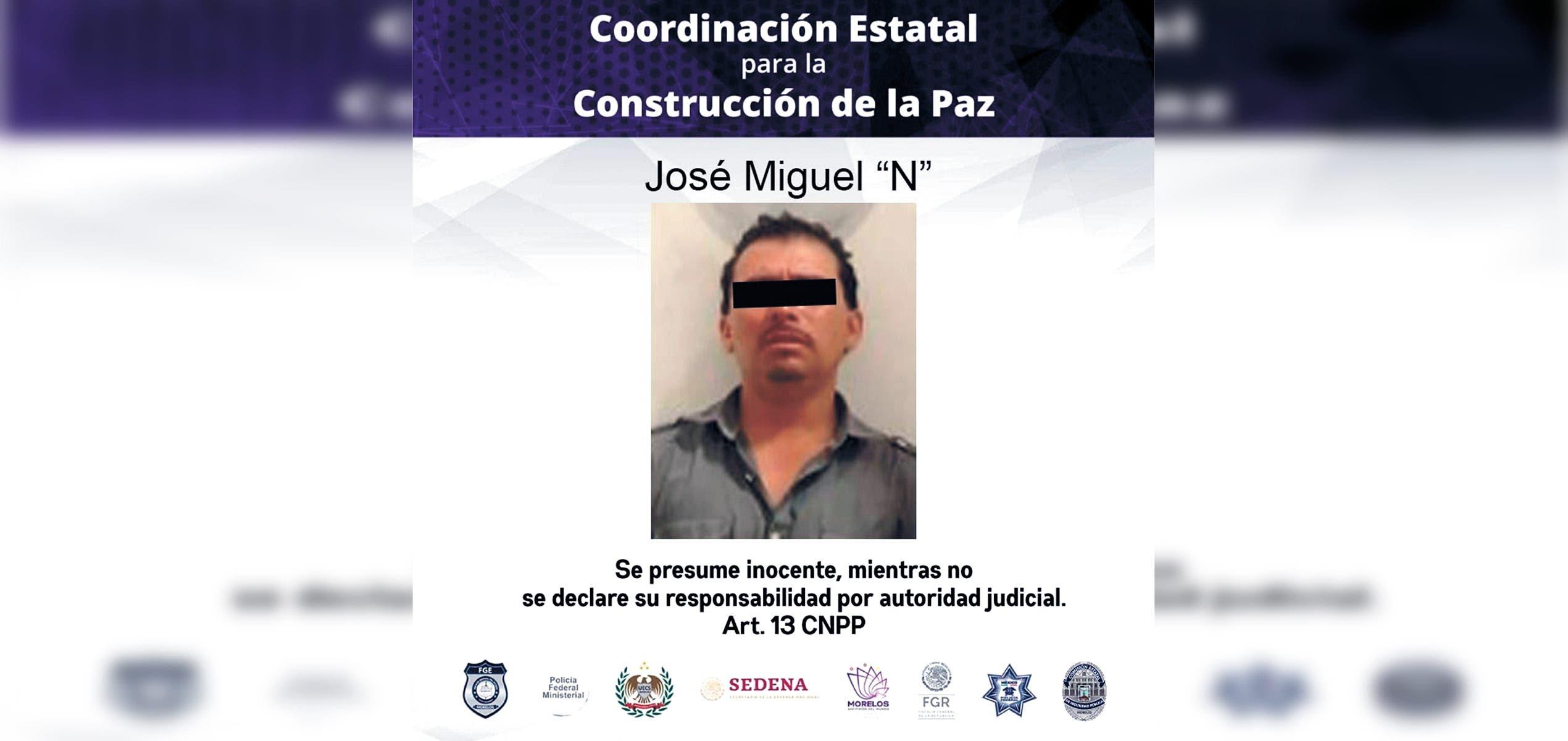 Cae por acosar a mujer en Yautepec