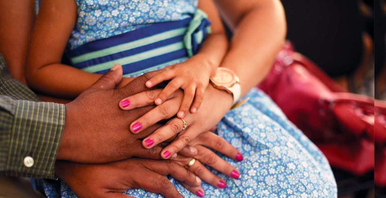 Oportunidad. El esquema permite que menores de centros asistenciales tengan una familia temporal, con opción a la adopción permamente.