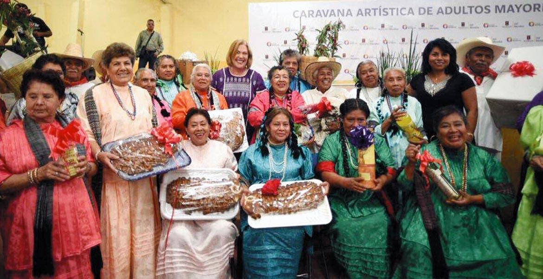 Festejo. El desarrollo de este evento marcó el inicio de las actividades que llevará a cabo el DIF Morelos, durante el mes de agosto, en el marco del Día del Adulto Mayor.