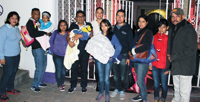 Acompañamiento. En esta ocasión, el DIF Cuernavaca llevó al DF a cinco familias, cuyos menores tienen secuelas por quemaduras