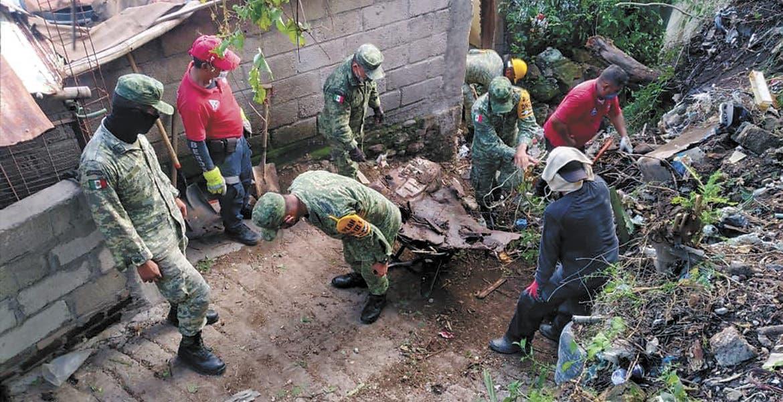 Aplican Plan DN-III por lluvias en Jojutla