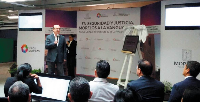 Evento. El gobernador Graco Ramírez inauguró las instalaciones de la Defensoría Pública con lo que buscan dar un mejor servicio.