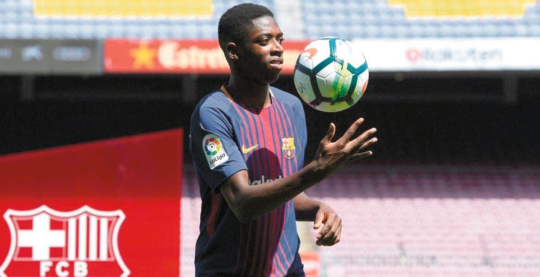 Se revelaron variables que Barcelona pagará por Ousmane Dembélé